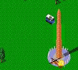 "Jungle Strike Game Gear The... ""Obelisk"". Just shoot at it for a while and it'll start looking like the Leaning Tower of Pisa."