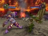 Wrath Unleashed PlayStation 2 (Dark Chaos) Cyclops vs (Dark Order) Arch Demon in Lava Arena