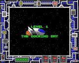 Bug Hunter in Space Acorn 32-bit About to dock