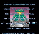 X-Zone SNES Introduction Story