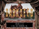 Dark Seed SEGA Saturn Title screen, normal version