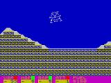 Apollo 11 ZX Spectrum Changes to a close up when close to succeeding