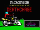 Deathchase ZX Spectrum Loading screen