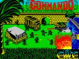 Commando ZX Spectrum Loading screen