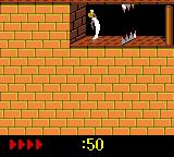 Prince of Persia Game Boy Color Level 4. Feeling thirsty.