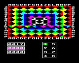 The Slicker Puzzle BBC Micro Start of game