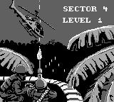 Choplifter II: Rescue Survive Game Boy Sector 4 introduction.