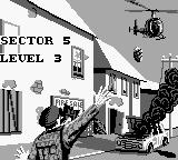 Choplifter II: Rescue Survive Game Boy Sector 5 introduction.