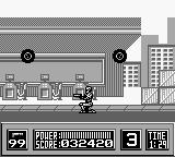 "RoboCop Game Boy The tires will just ""fly"" once you eliminate the bike."