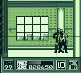 RoboCop Game Boy Present O.C.P. board of directors with evidence against Dick Jones.