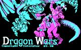Dragon Wars DOS Title screen (CGA RGB)