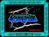 Starquake ZX Spectrum Title screen