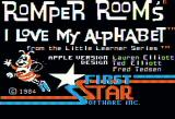 Romper Room's I Love My Alphabet Apple II Title screen