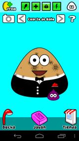 Pou Android Pou is now an adult but dirty again.