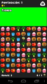 Pou Android Food swap: You must match three foods like Candy Crush Saga.