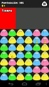 Pou Android Match tap, you must touch three Pous to score points, note: be quick.
