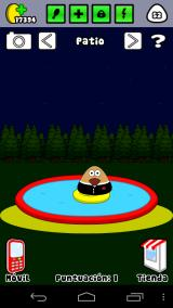 Pou Android You must launch the lifesaver to Pou and play in the pool.