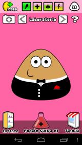 Pou Android The lab, you can cure Pou when his health meter is low or he's sick.