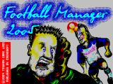 ZX Football Manager 2005 ZX Spectrum Loading screen