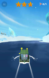 Sea Hero Quest Android One of the early levels with an Arctic setting