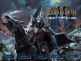 The Lord of the Rings: The Battle for Middle-earth II - The Rise of the Witch-king Windows Main menu. Unlike vanilla BFME2, this one is a static image. Notice the new blue menu theme
