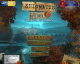Enigmatis: The Ghosts of Maple Creek (Collector's Edition) Windows Title and main menu