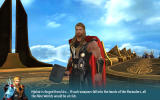 Thor: The Dark World Android Thor in an in-game story sequence