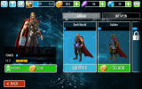 Thor: The Dark World Android Thor's upgrade screen