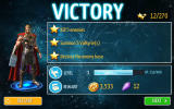 Thor: The Dark World Android Spoils after completing a mission