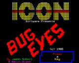 Bug Eyes BBC Micro Another title screen