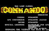 Commando Enhanced DOS Title screen