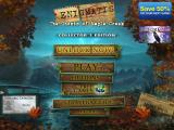 Enigmatis: The Ghosts of Maple Creek (Collector's Edition) iPad Title and main menu