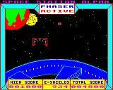 Space Station Alpha BBC Micro Earth starts flashing red when shields are under 1000