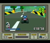 "Stunt Race FX SNES The first track: ""Easy Ride"""