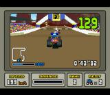 Stunt Race FX SNES Damnit! Being overtaken just before the finishing line!