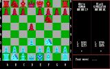 Chess Simulator DOS 2D Board (EGA).