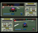 Stunt Race FX SNES ... a two player race