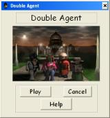 Double Agent Windows Initial screen