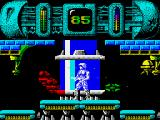 Trantor the Last Stormtrooper ZX Spectrum Shoot the flying droids