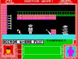 Doctor What! ZX Spectrum The doctors mortal enemy