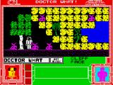 Doctor What! ZX Spectrum Doctor What is by a cliff