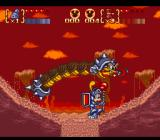 Disney's Magical Quest 3 starring Mickey & Donald SNES Sand stage boss