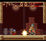 Disney's Magical Quest 3 starring Mickey & Donald SNES Donald's barrel works well against this boss
