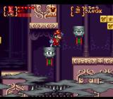 Disney's Magical Quest 3 starring Mickey & Donald SNES Magician's projectiles make these platforms move