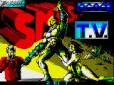 Smash T.V. ZX Spectrum Loading screen