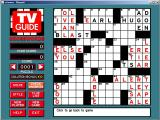 TV Guide: Crosswords Windows Here the 'Check Answers' function has been used<br>Most of them are wrong which wasn't intentional but it shows the feature off nicely