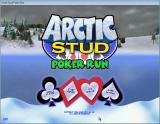 Arctic Stud Poker Run Windows Menu screen