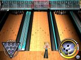 Bowling Mania Windows Here the player got a spare and their character is doing a little dance to celebrate