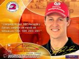 Michael Schumacher Racing World Kart 2002 Windows Title Screen.