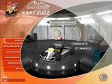 Michael Schumacher Racing World Kart 2002 Windows Main Menu.